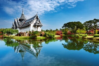 Фотообои Азиатский город