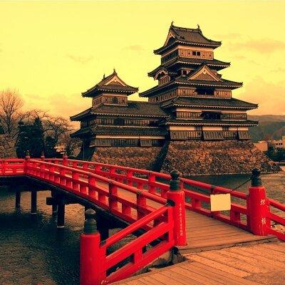 Фотообои Красный мост