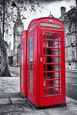 Фотообои Телефонная будка в Лондоне