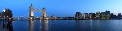 Фотообои Ночная панорама Лондона