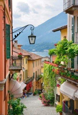 Фотообои уютная улица в итальянском городе