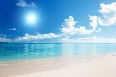 фотообои с солнечным пляжем