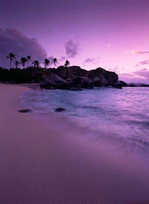 Фотообои Остров на закате