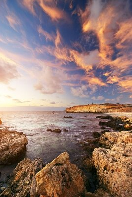 Фотообои Скалистый берег