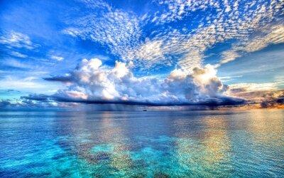 Фотообои Облака над морем