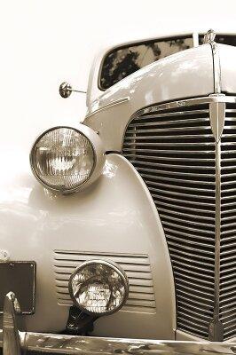 Винтажные фотообои Старое авто