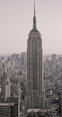 Винтажные фотообои Небоскреб Нью-Йорка