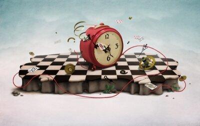 Арт фотообои Сломанный будильник