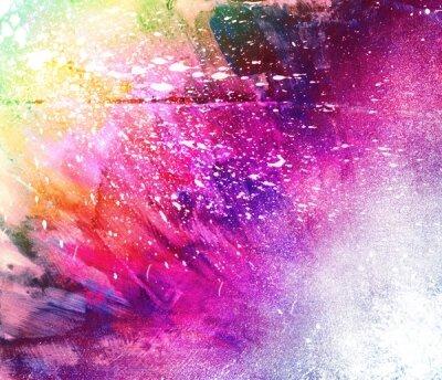 Арт фотообои Разноцветная абстракция