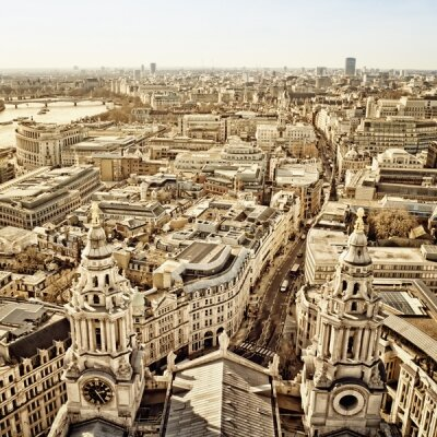 Фотообои Панорама старого города