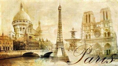 Фотообои Выдающиеся парижские постройки