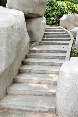 Фотообои Каменная лестница