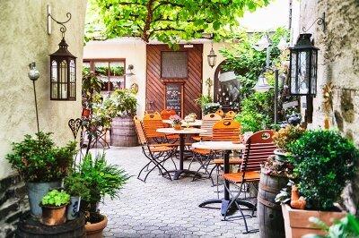 Фотообои Кафе в старом городе