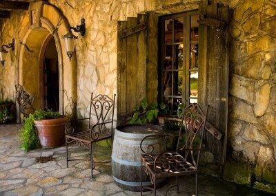 Фотообои Старый двор