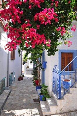 Фотообои Дом с цветами