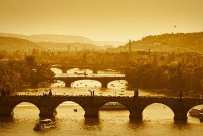 Фотообои Мосты в сепии