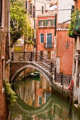 Фотообои мост через канал в Венеции