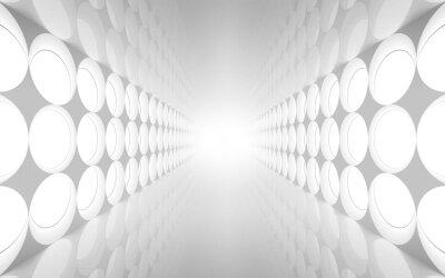 Фотообои Светлый тонель