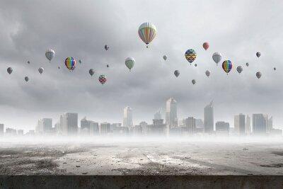 Фотообои Воздушные шары