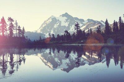 Фотообои Отражение в озере