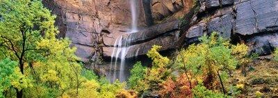 Фотообои Водопад в скалах