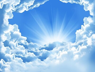 Фотообои Небесная панорама