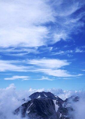 Фотообои Туман над вершиной