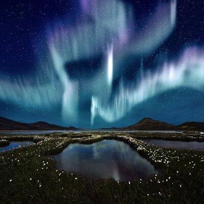 Фотообои Северное сияние