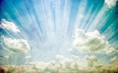 Фотообои Сияние в облаках