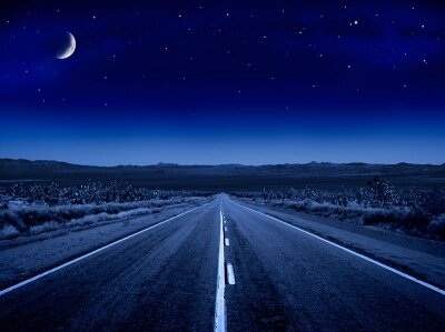 Фотообои Звездная ночь