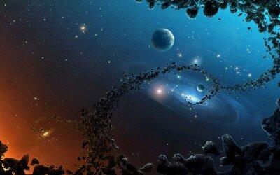 Фотообои на стену Планеты и астероиды