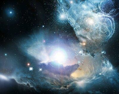 Фотообои на стену Космическая панорама