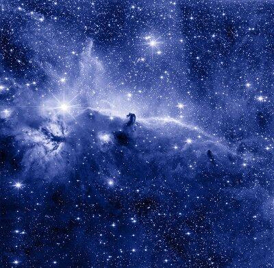 Фотообои на стену Звезды в космосе