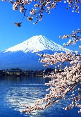 Фотообои для зала Гора Фудзияма