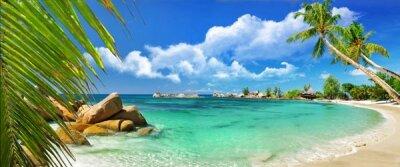 Фотообои для зала Тропический остров