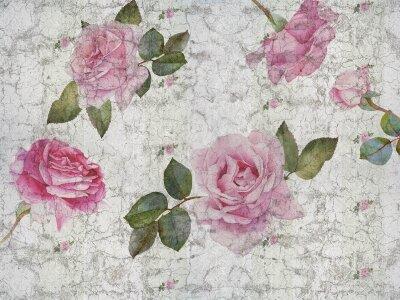 Фотообои Винтажные розы