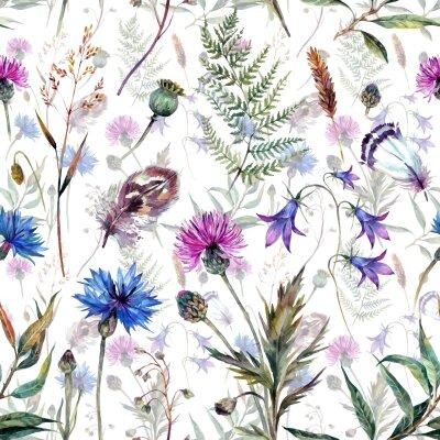 Фотообои Паттерн с цветами