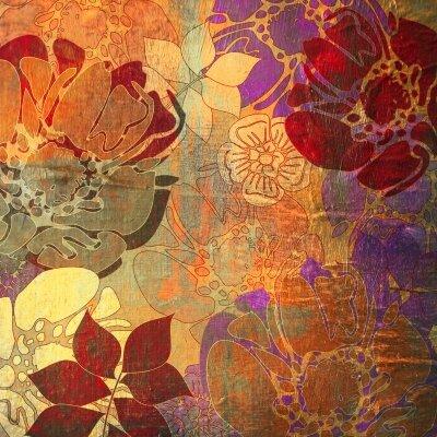 Фотообои Цветочная живопись