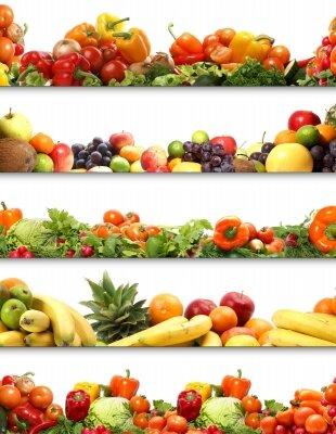 Фотообои Фруктово-овощная панорама