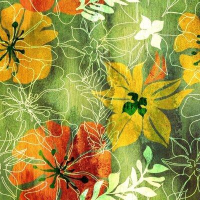 Фотообои Осенние цветы
