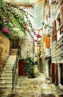 Фотообои в коридор Улица старого города