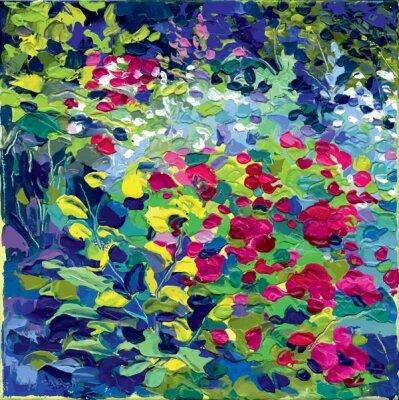 Фотообои в прихожую Картина маслянными красками