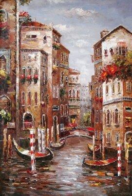 Фотообои для офиса Картина с Венецией