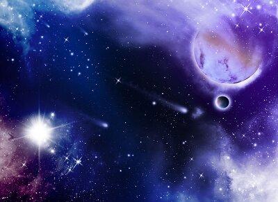 Фотообои для офиса Звездная галактика