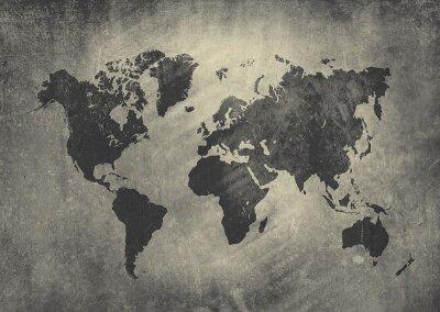 Фотообои для офиса Карта мира