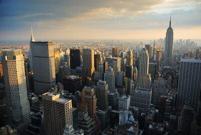 Фотообои для офиса Рассвет в Нью-Йорке