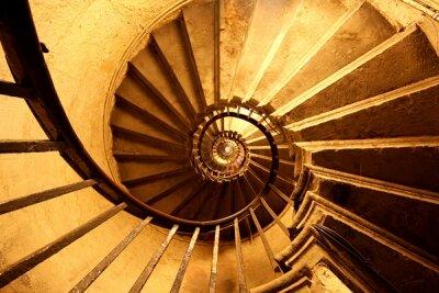 Фотообои для офиса Винтовая лестница