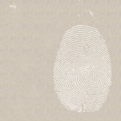 Дизайнерские фотообои отпечаток пальца