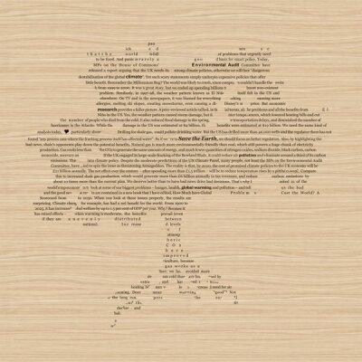 Дизайнерские фотообои деревянный фон