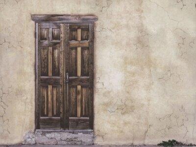 Дизайнерские фотообои дверь,винтаж